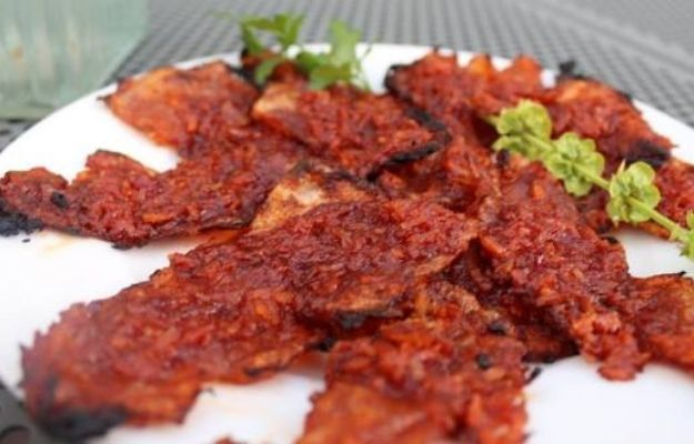 grilled vegan bacon based on dish   What Is Plant-Based Bacon Made Of?   5 Types of Vegan Bacon You Can Make at Home